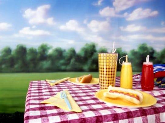 A traditional picnic
