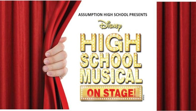 """Assumption High School will present """"High School Musical"""" this weekend at the Wisconsin Rapids Community Theatre."""