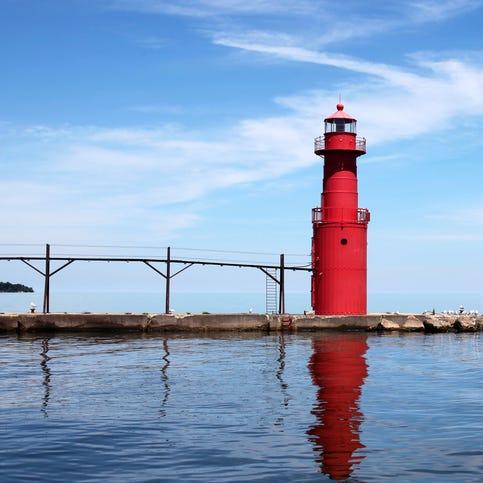 Algoma is a day trip away along Lake Michigan