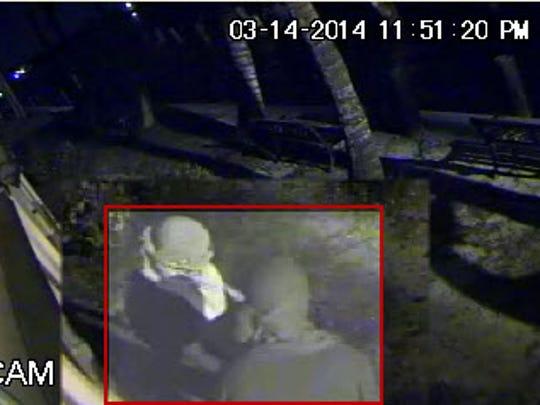 Two men broke into Bert's Bar and the Sandy Hook restaurant on Matlacha earlier this week.