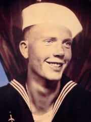 Foy Seegmiller served in the Navy from 1943-46.