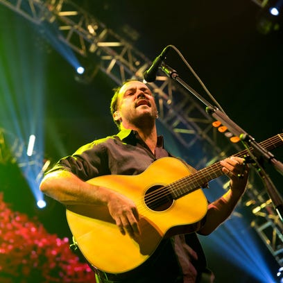 The Dave Matthews Band performs Tuesday, June 30, 2015,