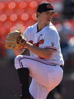 OSU senior pitcher Travis Eckert is coming off the best outing of his career.