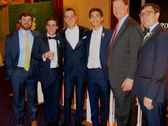 John Frierson Jr., Lorcan Connick, groom Tyler Daniel,