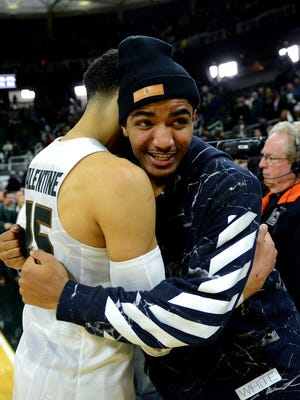 Denzel Valentine and Gary Harris will join fellow former Michigan State star Draymond Green in preparing USA Basketball for the Olympics this summer.