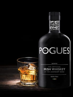 The Pogues Irish Whiskey is available now from West Cork Distillers.