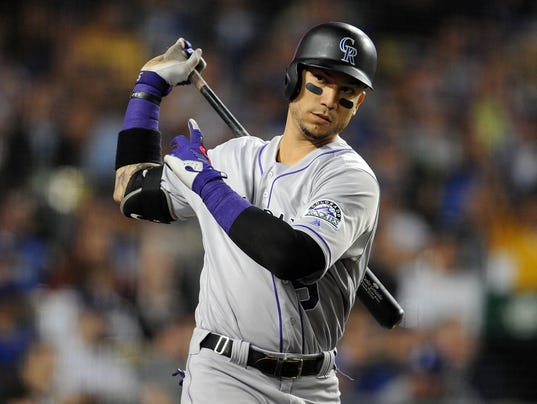 baseball league major trump mlb players rockies sports donald gonzalez usa today colorado mexico vasquez gary dodgers america carlos concerns