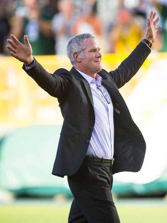 AP PACKERS FAVRE S FBN USA WI