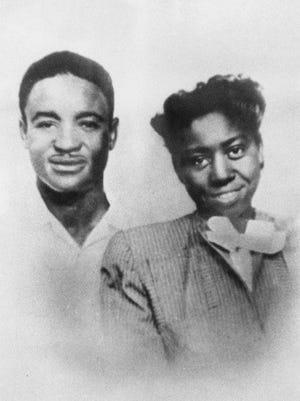 Edmund Gavin and Elnora Walker's 1933 wedding photo