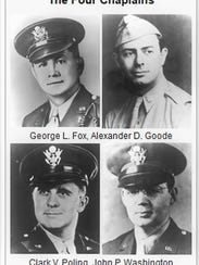 The Four Chaplains: Fox was a Methodist minister, Goode