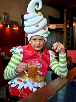 """David Brian Alley is set to reprise his 2015 role as  Crumpet the Elf in """"The Santaland Diaries"""" in the Clarence Brown Theatre's 2018-19 season."""