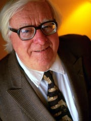 Author Ray Bradbury is shown in this Nov. 11 1996 file