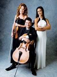 The instrumental trio will perform at P.R. Leyva on Thursday as part of the Carlsbad Community Concert Association's concert series.