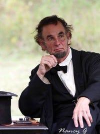 Fritz Klein, Abraham Lincoln impersonator