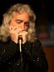 Texas bluesman Ted Vaughn will play at Arcane Cellars