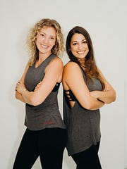 Christine Limuti and Dalya Crawford of Pure Barre
