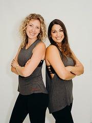 Christine Limuti and Dalya Crawford of Pure Barre