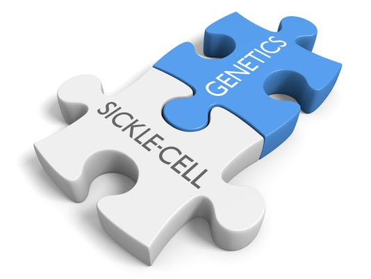 Link between genetics and the disorder sickle-cell disease
