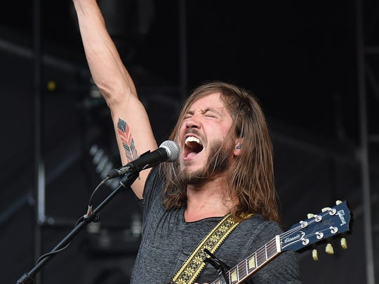 Moon Taxi performs during the 2015 Bonnaroo Music & Arts Festival - Day 2 on June 12, 2015 in Manchester, Tenn.