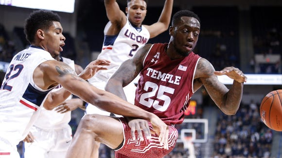 Temple will take on UConn on Feb. 11.