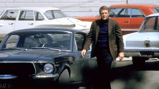 """Steve McQueen in a scene from the motion picture """"Bullitt."""""""