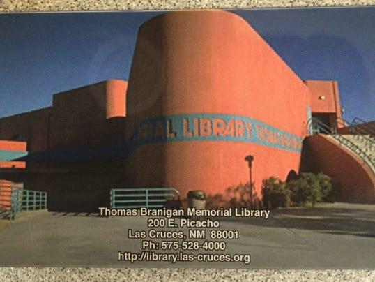 Branigan Library card
