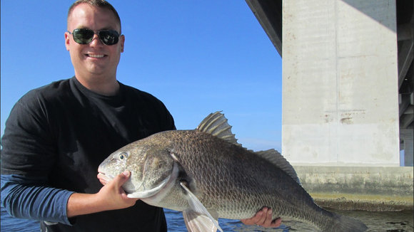 Veteran's fishing trip ends with piles of fish and