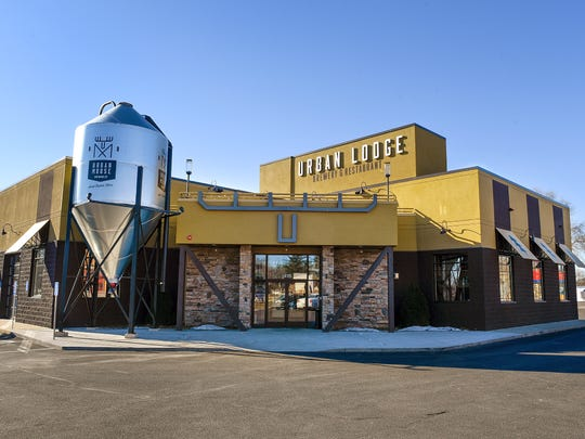 Urban Lodge Brewery & Restaurant shown Wednesday, Feb. 1, in Sauk Rapids.