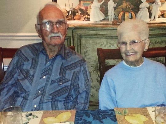 Oscar and Phyllis Hoffman.