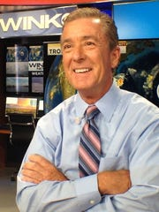 Jim Farrell, chief meteorologist at WINK-TV in Fort Myers.