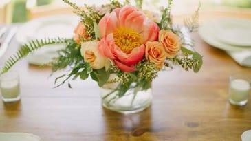 Asymmetrical Wedding Flower Trends