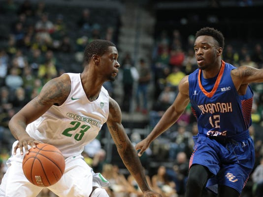 NCAA Basketball: Savannah State at Oregon