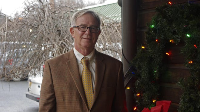 Ken English was elected town supervisor in November, ousting Supervisor Michael Rost.