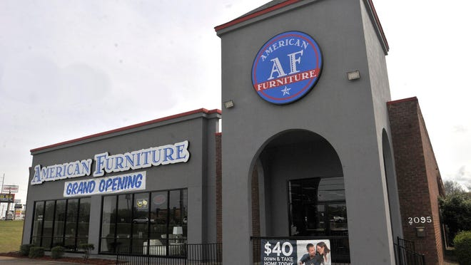 American Furniture has opened in the former Party City location at 2095 Eastern Boulevard in Montgomery.