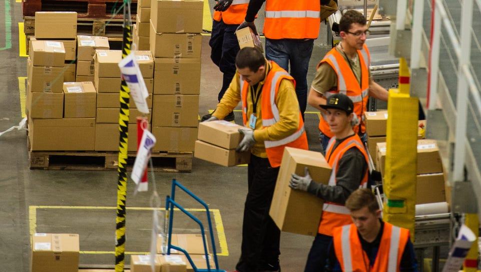 The Amazon Fulfillment Centre prepares for Black Friday