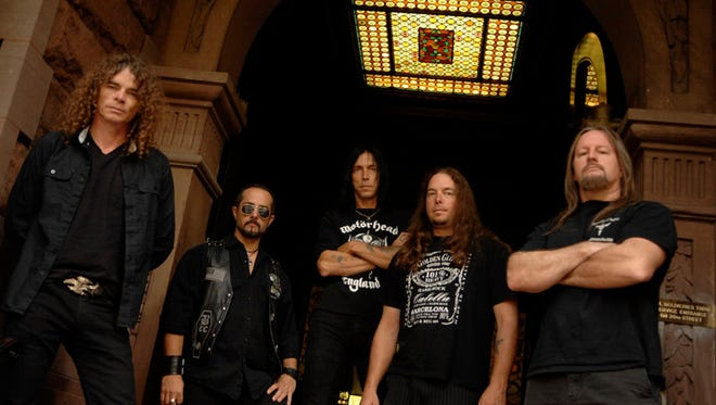 The veteran trash band Overkill originated in the metal bastion of Old Bridge.