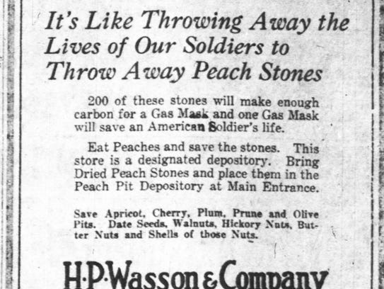 H.P. Wasson & Co was a collection site for stone fruits