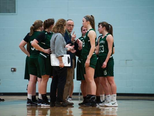 St. Johnsbury vs. Essex Girls Basketball 02/12/18