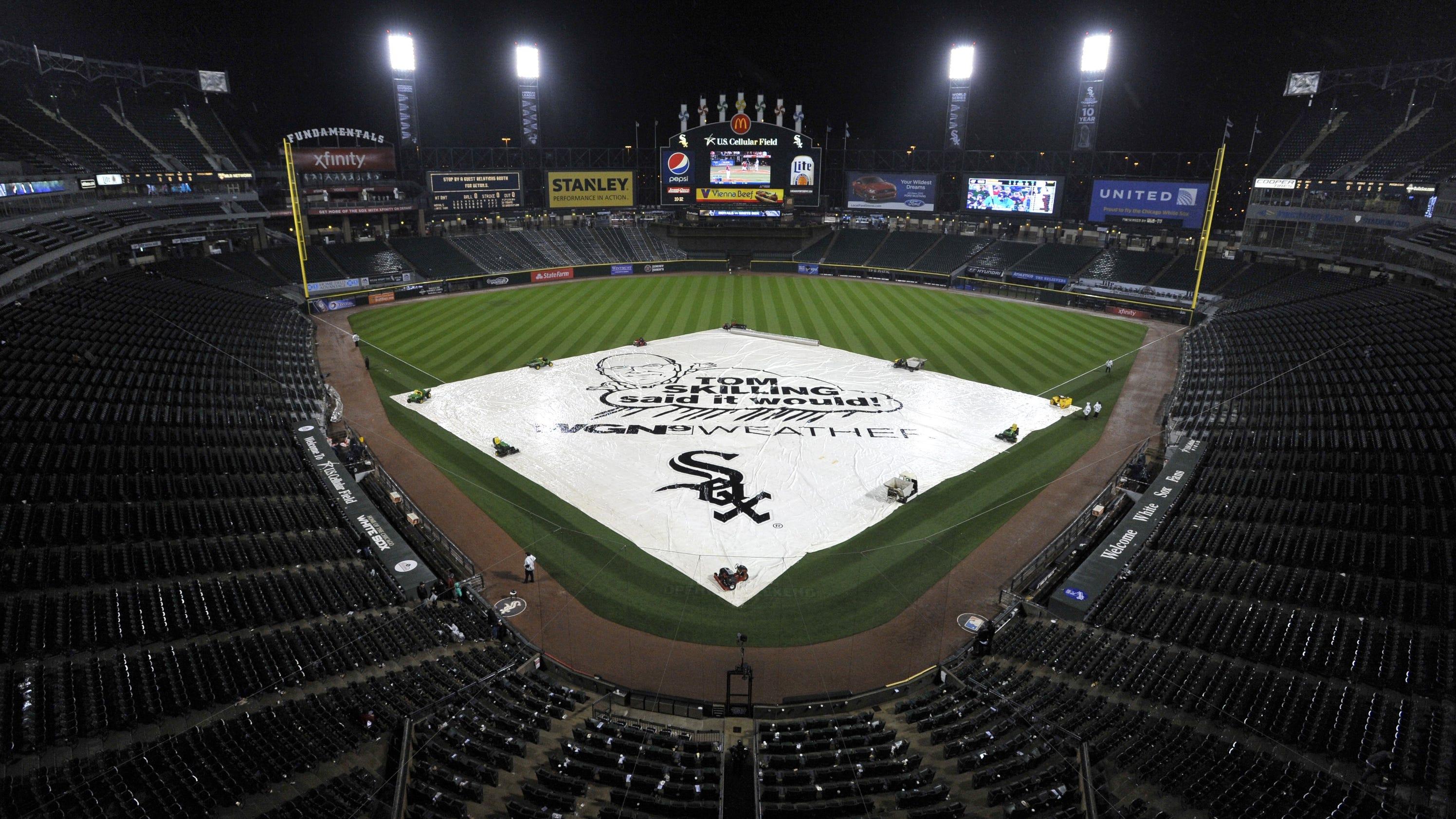 Rain Postpones Royals-White Sox Games To Sunday