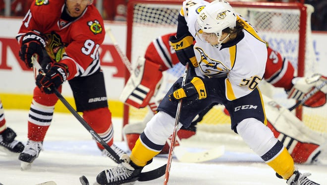 Kevin Fiala is one of the Predators' top prospects entering the 2015-16 season.