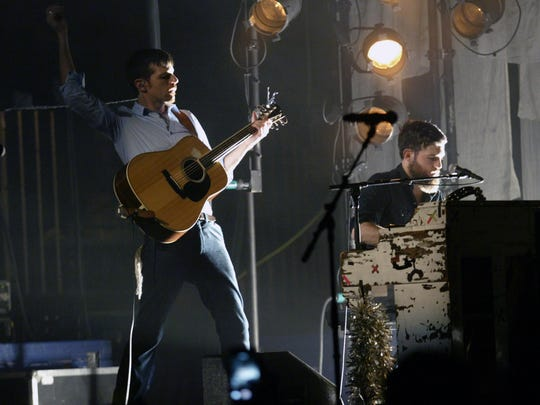 The Avett Brothers played a sold out show at the Weill