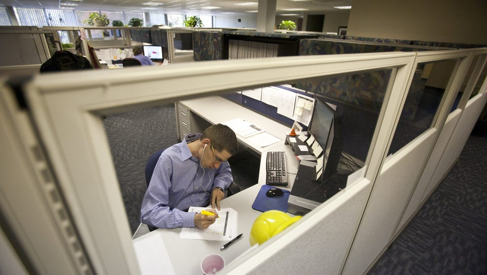 Some are talking about the end of the cubicle, but