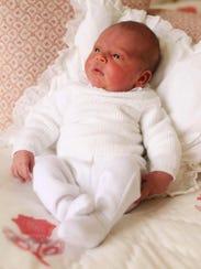 Prince Louis, taken at Kensington Palace, in London