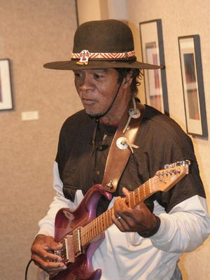 Billy Davis performs in the Blues@The Elks series, Feb. 9, in Plymouth.