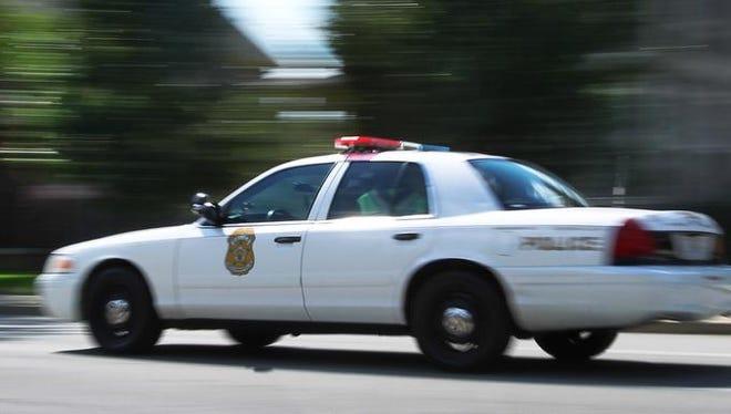IMPD patrol car