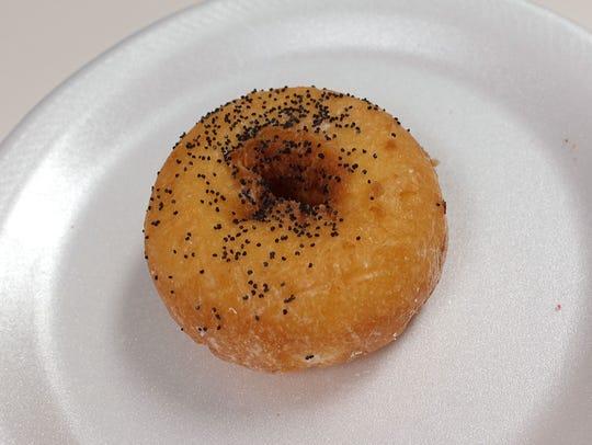 Lemon poppyseed donut from The Donut Parlor in Tempe,