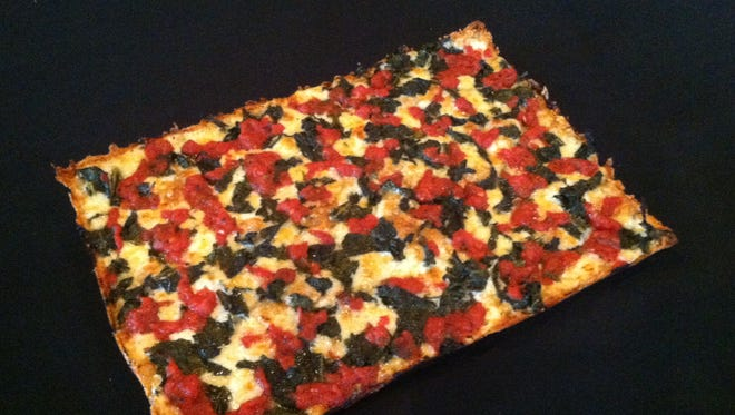 Buddy's Pizza boasts a new Kale Lover's pizza, served on a multigrain crust.