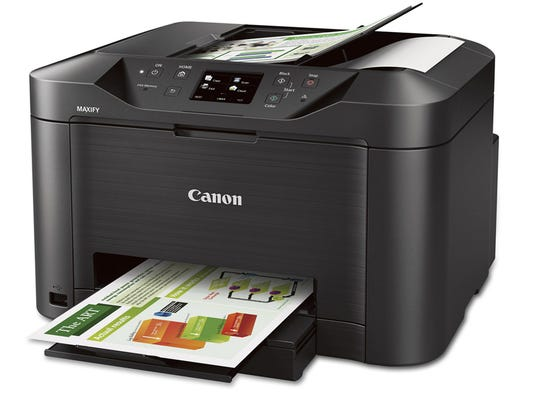 """The Canon Maxify MB2320 is a cost-effective """"all-in-one"""" Wi-Fi-enabled inkjet printer, scanner, copier and fax machine."""