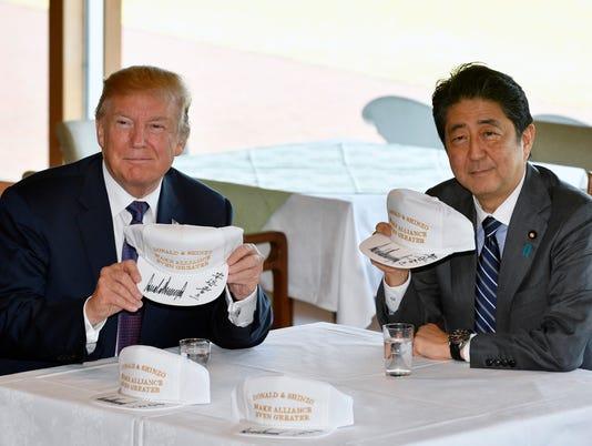 AP JAPAN US TRUMP ASIA I JPN