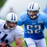 Once a rising star, Titans' McCarthy fights for job
